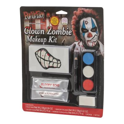 Clown Zombie Makeup-Kit