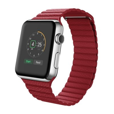 Apple Watch 42mm Läderloop Armband