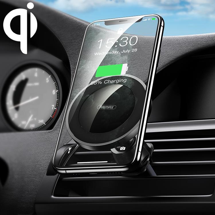 Magnetisk Mobilhållare Bil Trådlös Snabbladdning 10W